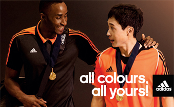 adidas miTeam: all colours, all yours!