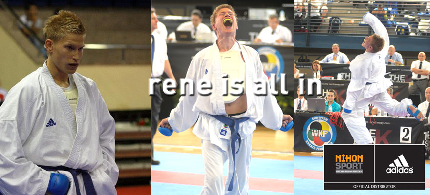 Rene Smaal is all in