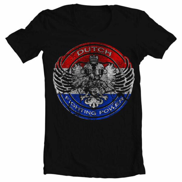 Nihon T-Shirt Dutch Fighting Power
