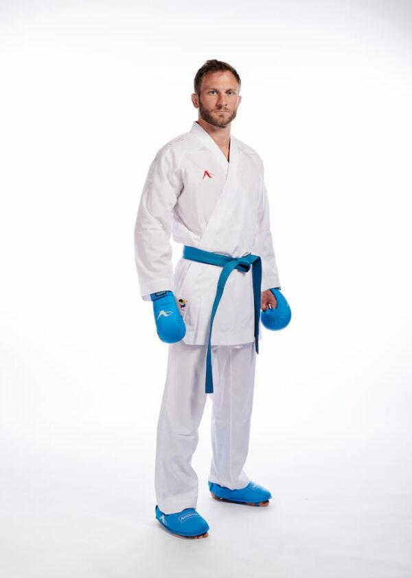 Kumite-karatepak Onyx Zero Gravity (wit) Arawaza | WKF