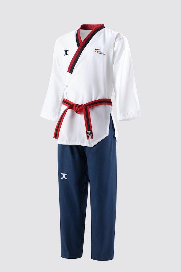 Poomsae taekwondo-pak poom (dobok) voor jongens JC   WT