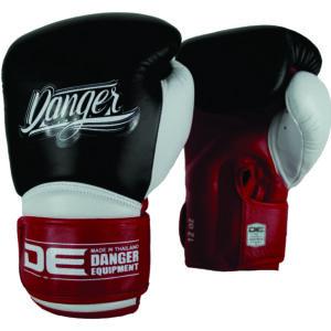 Danger bokshandschoen Rocket 5.0 | leer rood/zwart/wit