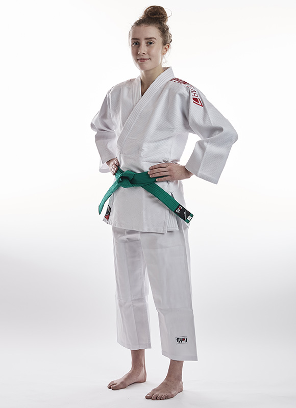 Ippon Gear Future 2.0 - red volledig jeugd judopak