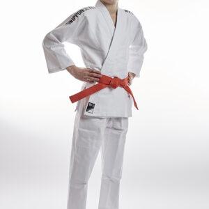 Ippon Gear Future 2.0 - black volledig jeugd judopak