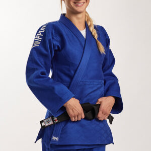 Ippon Gear Fighter Legendary Slim Fit judojas Blauw