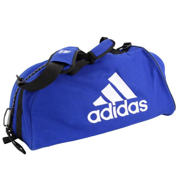 Adidas judotas van judopakken-stof | blauw-wit | maat M en L