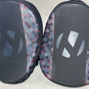 Focushandschoenen (focus mitts) Honeycomb Nihon   rood
