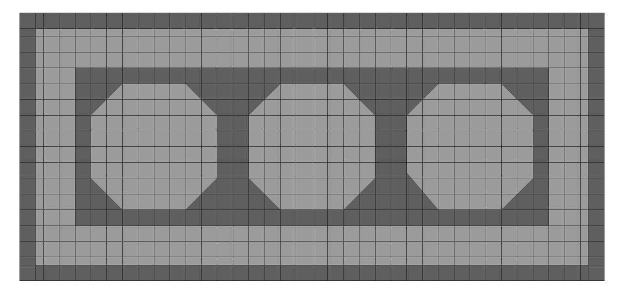 Nieuwe dojang Keumgang met een op maat gemaakte puzzelmat van TatamiX