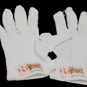Binnenhandschoen met vingers (inner glove) Nihon | wit