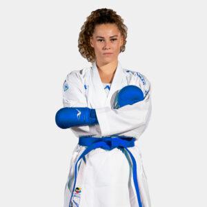Kumite-karatepak Onyx Oxygen (blauw) Arawaza | WKF