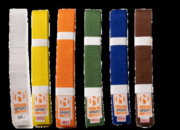 Budo- en judobanden Nihon | stevige kwaliteit | div. kleuren