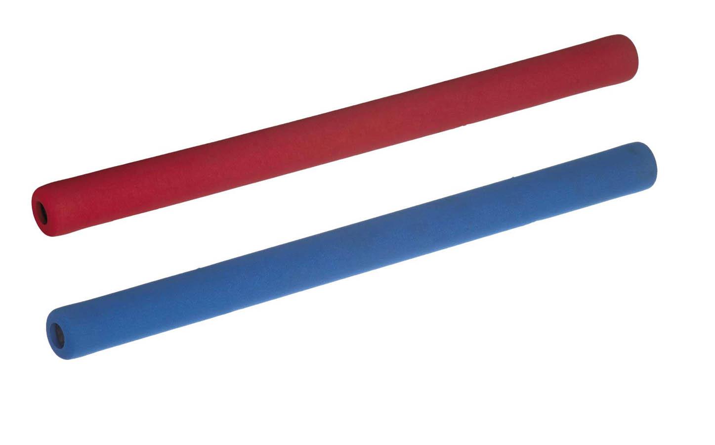 Ju-Jutsu Duo Stok Set Soft Stick | rot und blau