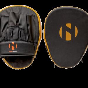 Focushandschoenen (focus mitts) Nihon | zwart-goud