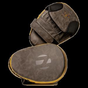 Focushandschoenen (focus mitts) Nihon | bruin gemêleerd