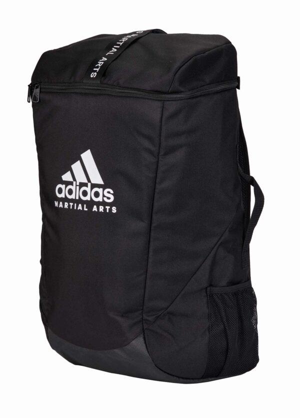 Adidas rugzak met Martial Arts-opdruk   zwart-wit   3 maten