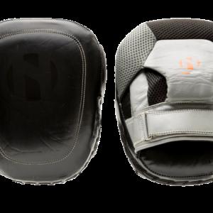Focushandschoenen (coaching mitts) Nihon | leer |zwart-grijs